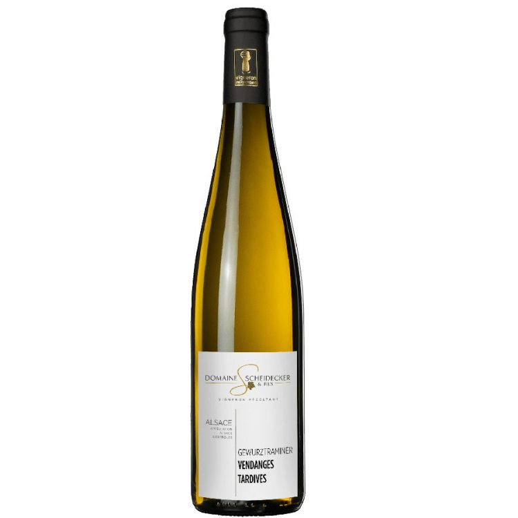 Alsace gewurztraminer blanc moelleux