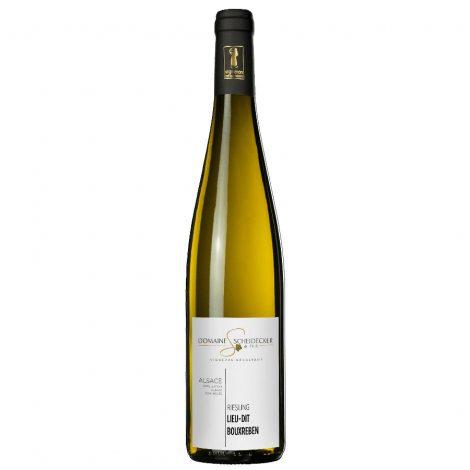 vin d'Alsace domaine Scheidecker riesling lieu dit bouxreben blanc 2018