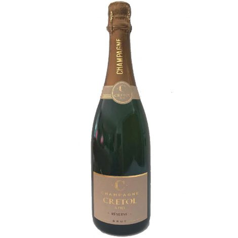 Cretol & Fils Champagne Blanc 2017