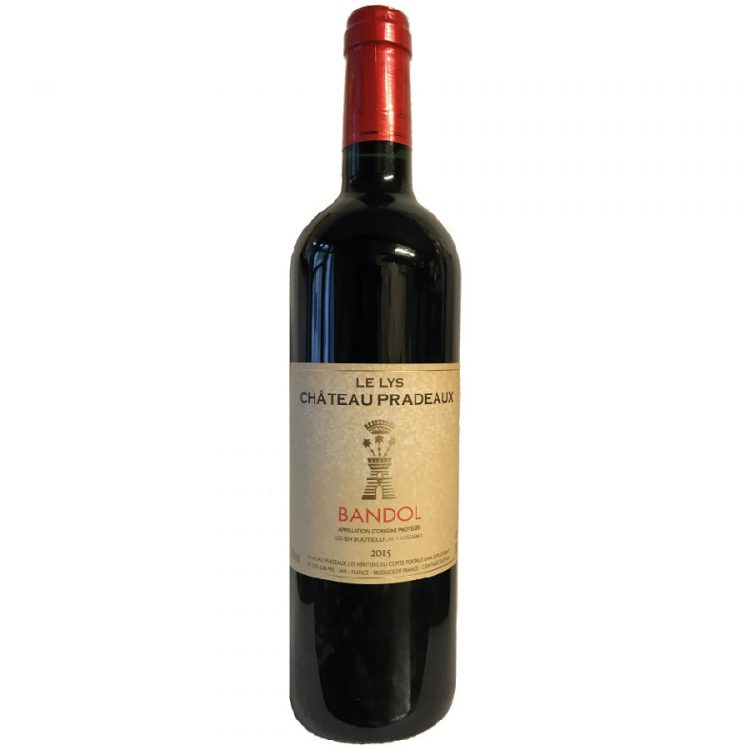 Château Pradeaux Provence Rouge 2015